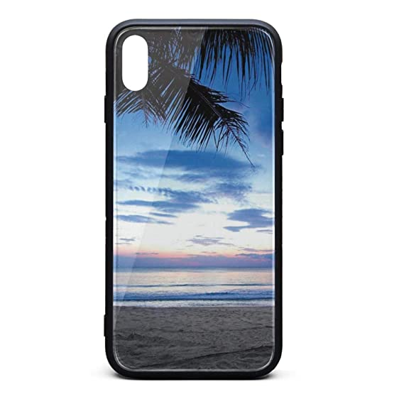 Amazon Com For Iphone X Case Tropical Sunset Palm Tree