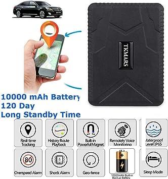 magnético GPS Tracker Auto, 120 Días largo inactivo Localización ...