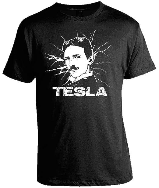dda23c11 Science Shirts - Nikola Tesla T-Shirt   Amazon.com