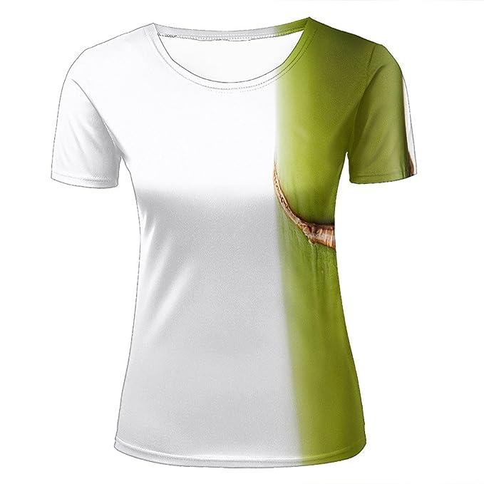c0fe8757f7 Amazon.com: guangtumiao 3D Print T-Shirts So Cute/Bamboo Graphic Fashion Couple  Tops Shirts: Clothing