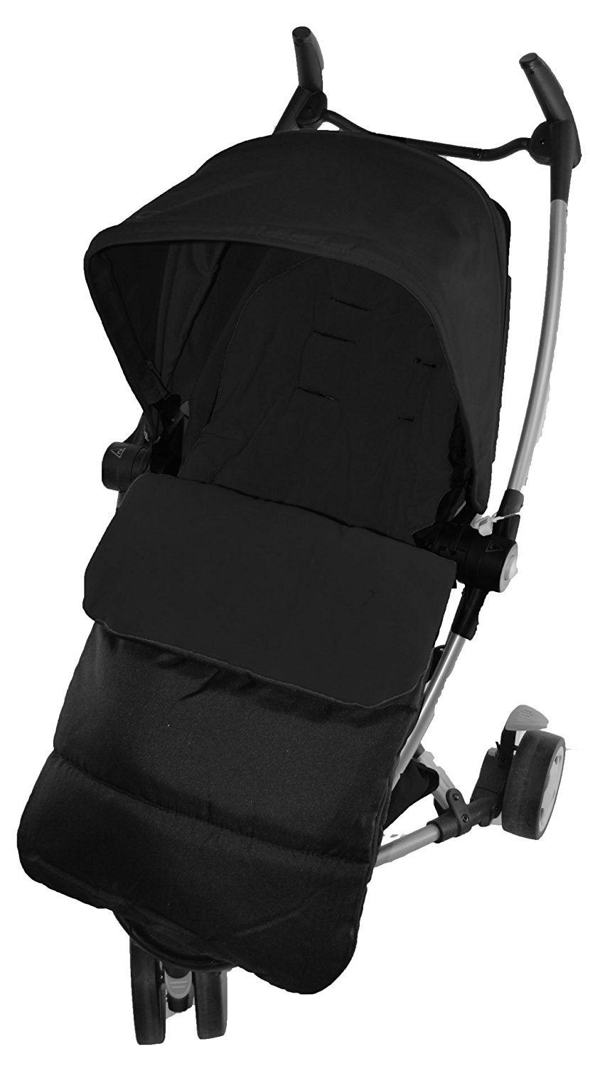 Chancelière/Cosy orteils Compatible avec Quinny Yezz Poussette Black Jack For-Your-Little-One