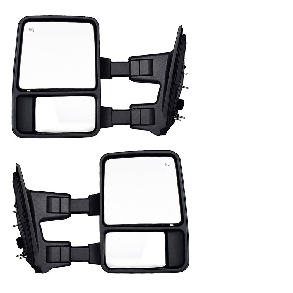 Dedc Ford Towing Mirrors F250 Tow F350 F450 Pair For 2002 F 250 Super Duty Wiring Diagram 1999 2007 Side