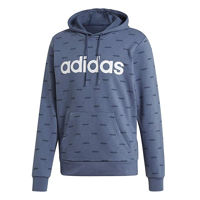 good selling new high quality innovative design Amazon.com : adidas Men's Linear Graphic Hoodie : Clothing