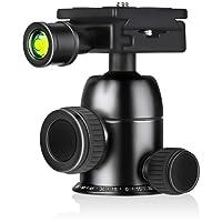 Stativkopf, HOCOSY Kamera Stativ Kugelkopf Panoramakugelkopf verbreitet in verschiedenen professionellen Stativ verwendet werden Berufsmetall 360 Grad drehbarer für die Aufnahme von Panorama-Fotos sehr glatt