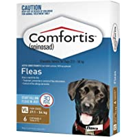 Comfortis Tablet for X-Large Dogs 27.1-54kg (Brown) - 6 Pack