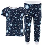 Sweet & Soft Little Boys' Navy Comets Cotton Pajamas 4T