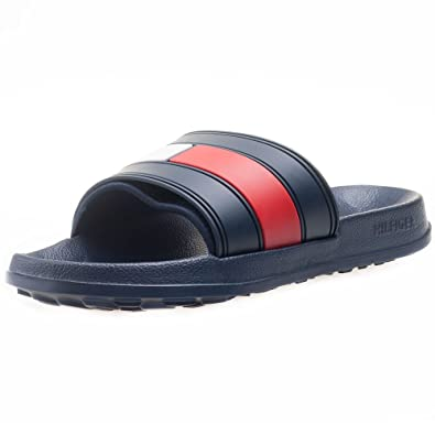 f5c3fe32a Tommy Hilfiger Mens Navy Slides  Amazon.co.uk  Shoes   Bags