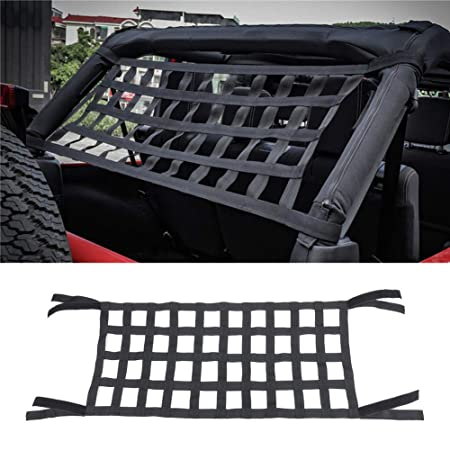 FADDR Cama para Jeep Wrangler JK 07-18, Red de Nailon Flexible ...