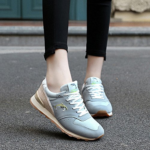 Ben Sports Damen Sneaker Trail Laufschuhe Turnschuhe Hallenschuhe Sportschuhe für Damen Blau