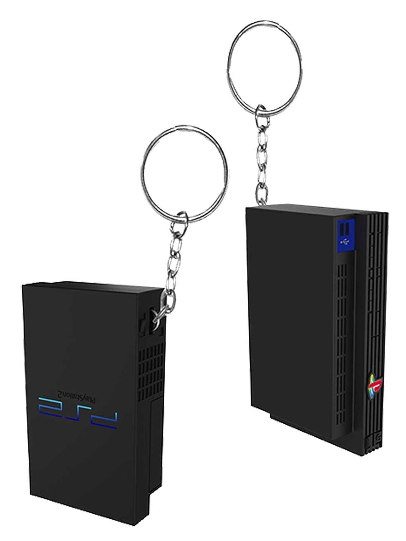 Amazon.com: Llavero, diseño de Playstation PS2 consola ...