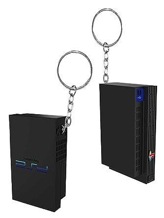Playstation Llavero PS2 Console replica retro gamer nuevo ...