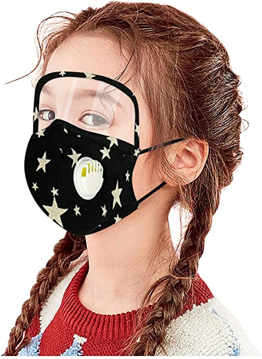 3PCS Dust Cotton Face Scarf for Children,Reusable Lightweight Comfy Breathable Face M/ásk for Boy and Girls Pgojuni