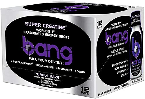 VPX Bang Energy Shots, Purple Haze, 24 Pack