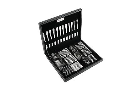 Amazon.com | BRINOX 5121/514 84 Piece Bistro Collection Professional Grade Silver Flatware Set: Flatware Sets