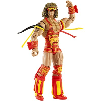 WWE Defining Moments Ultimate Warrior Elite Figure: Toys & Games