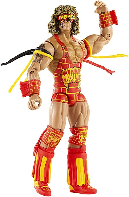 WWE Mattel Defining Moments Ultimate Maniacs Ultimate Warrior ACTION FIGURE NEW IN BOX