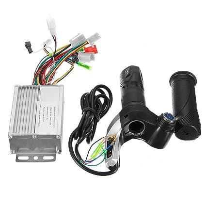 36V 350W Motor Brushless Controller+Throttle Twist Grip For