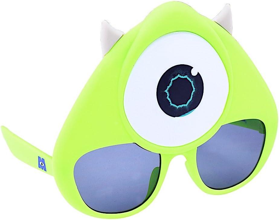 Gafas de Sol para Disfraz de Monsters Mike Wazowski Sun-Staches ...