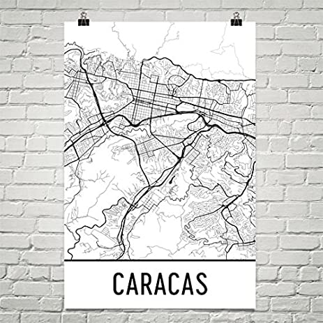 Amazoncom Caracas Poster Caracas Art Print Caracas Wall Art