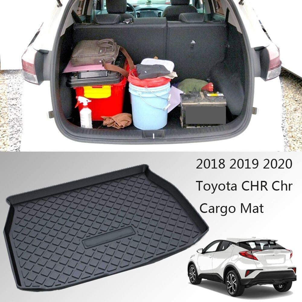 Caartonn Trunk Cargo Mat Cargo Tray Cargo Liner Trunk Cover Floor Mat 2019 2020 Compatible for C-HR CHR chr 2018
