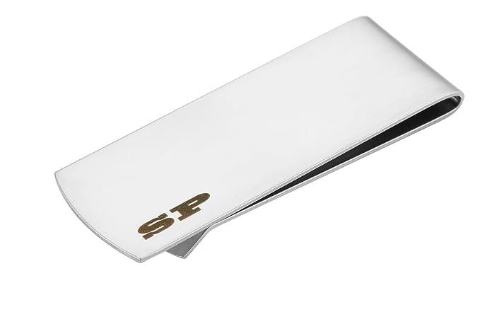 simpacx classic cash money clip credit card holder silver - Money Clip Credit Card Holder