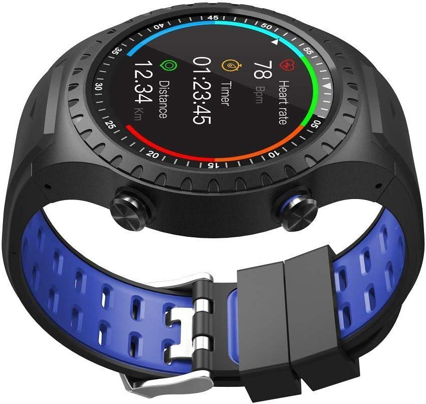 MRMRMR Reloj Deportivo al Aire Libre, Reloj Inteligente, con GPS y brújula, Reloj Impermeable