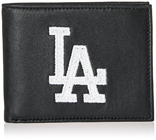 MLB Los Angeles Dodgers Embroidered Genuine Cowhide Leather Billfold ()