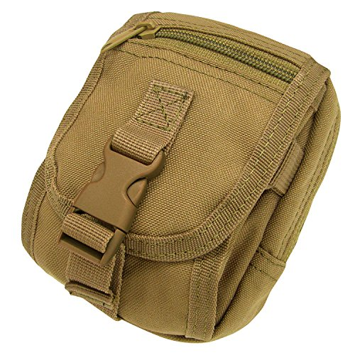 Brown Pouch - Condor Molle Gadget Pouch, Coyote Brown