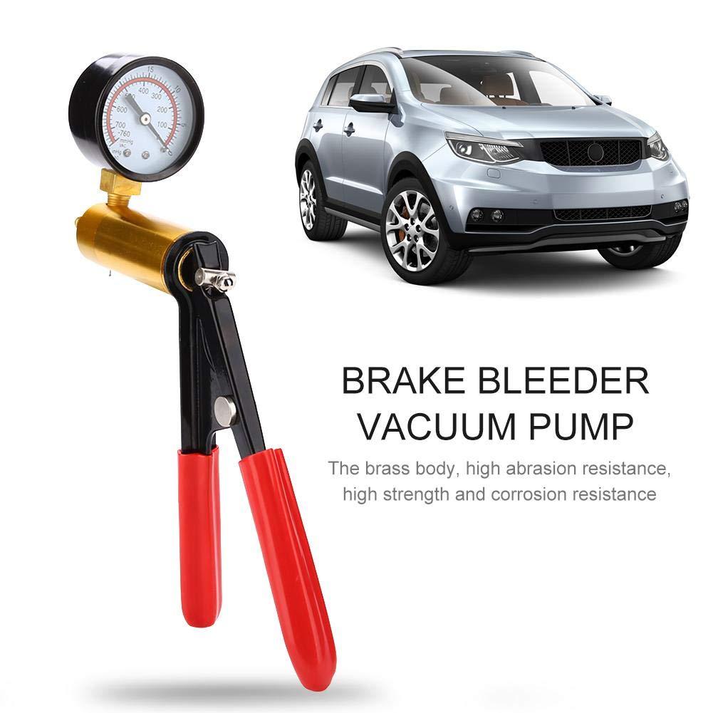 Pompa a Vuoto Manuale,Kit Pompa A Vuoto Pompa Manuale Per Spurgo Freni Spurgo Freni Per Automobili E Motocicli