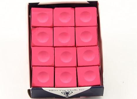 Silver Cup - Caja de tiza para billar y billar, 12 cubos, 53-0707 ...