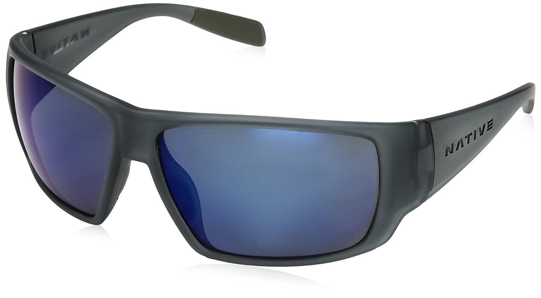 Native Eyewear 2017 Reflex sightcaster交換可能な偏光レンズサングラス – マット煙クリスタルフレーム Blue/ Blue Reflex – Lens – 183 349 526 B01N8U6VSA, あなたのほしいインテリアのお店:7ad2cacd --- verkokajak.se