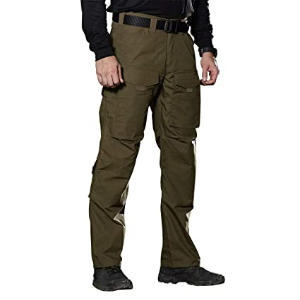 efdc075a4c1b Image Unavailable. Image not available for. Color  FREE SOLDIER Outdoor Men  Teflon Scratch-Resistant Pants Four Seasons Hiking Climbing Tactical ...