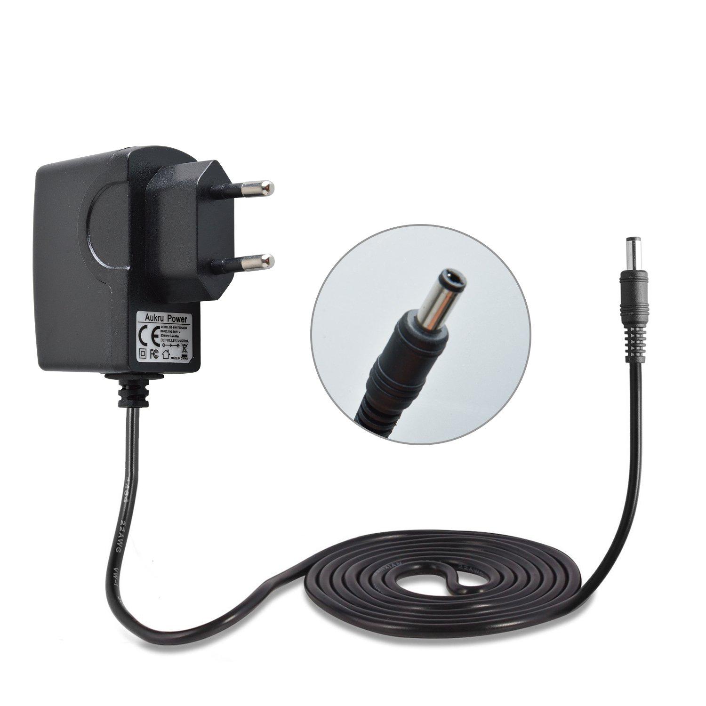Aukru Chargeur Secteur 7.5V Adaptateur pour Vtech - 163405 - Jeu Électronique - Kidimagic Color Show - Noir product image