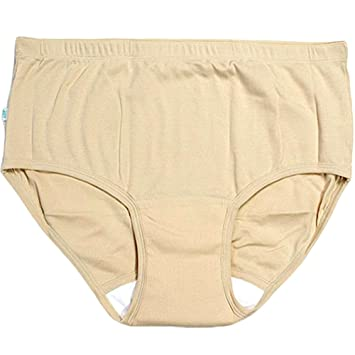 a2b6feafd444 Image Unavailable. Image not available for. Color: JINTAOFA Incontinence  Underwear for Women Patient Panties Reusable ...