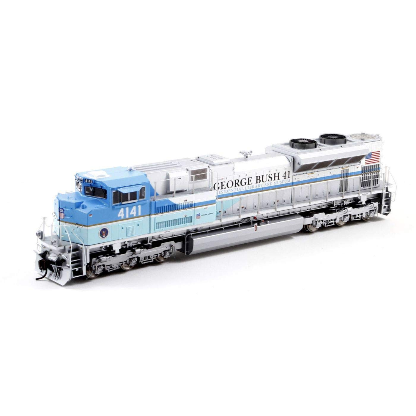 Athearn HO SD70ACe with DCC /& Sound UP George HW Bush #4141 ATHG04141