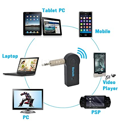 Accessories Loldis Car Bluetooth Handsfree Music Receiver Universal 3.5mm Streaming A2DP Wireless Auto AUX Audio Adapter with Mic for Phone MP3