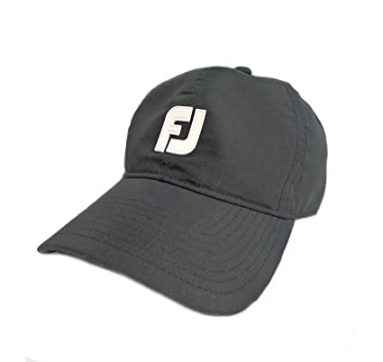 5d3779a816b Image Unavailable. Image not available for. Color  NEW FootJoy DryJoy All  Weather Baseball Cap Black Adjustable Hat