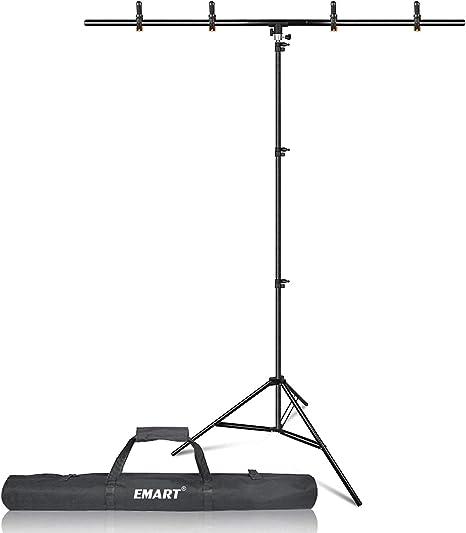 Emart T Förmiger Tragbarer Hintergrund Ständer Set 1 5 Kamera