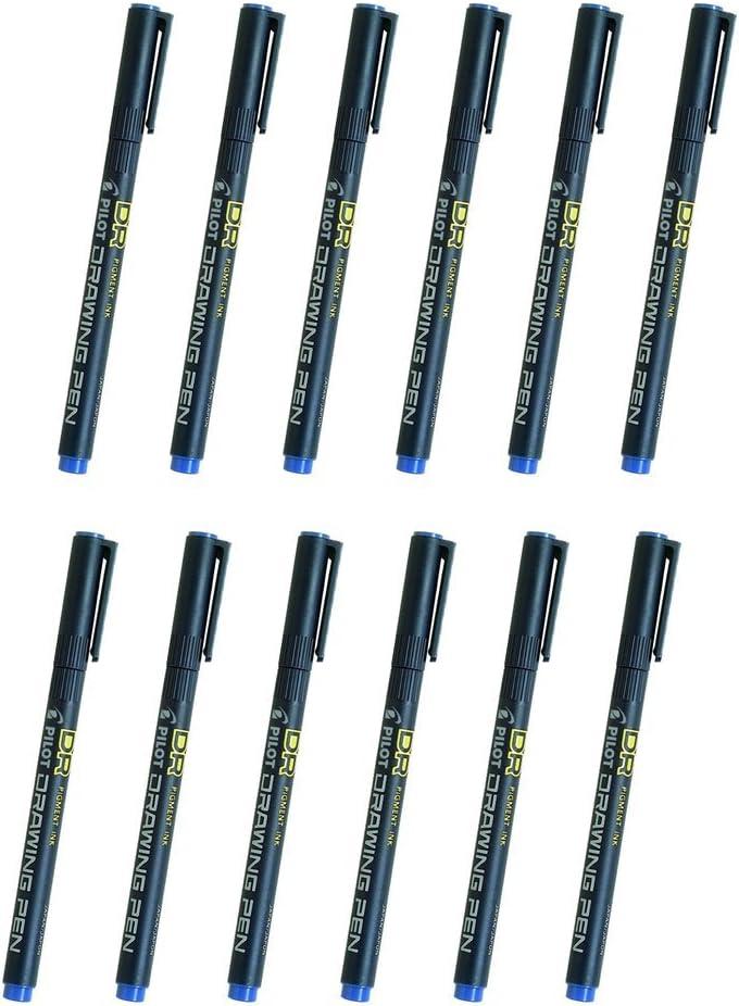 Pilot SW-DR-01 0.1mm Drawing Pen Bulk Pack (12pcs) - Tinta azul ...