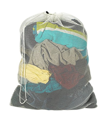 Commercial Mesh Laundry Bag drawstring product image