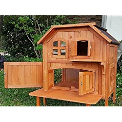 Trixie Pet Products Wooden Outdoor Cat Home – Closeout