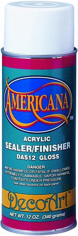 Deco Art 12-Ounce Americana Acrylic Sealer/Finish Aerosol Spray, Gloss