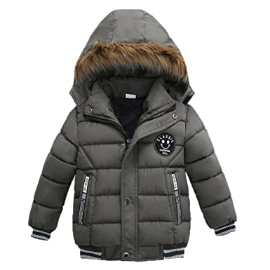 Abrigos Bebé, Xinan Chaqueta de invierno acolchada Ropa Abrigo de moda para niños Abrigo grueso