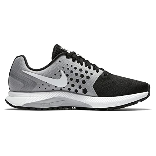 Nike Zoom Span Cool Grey Black Running Shoes Womens