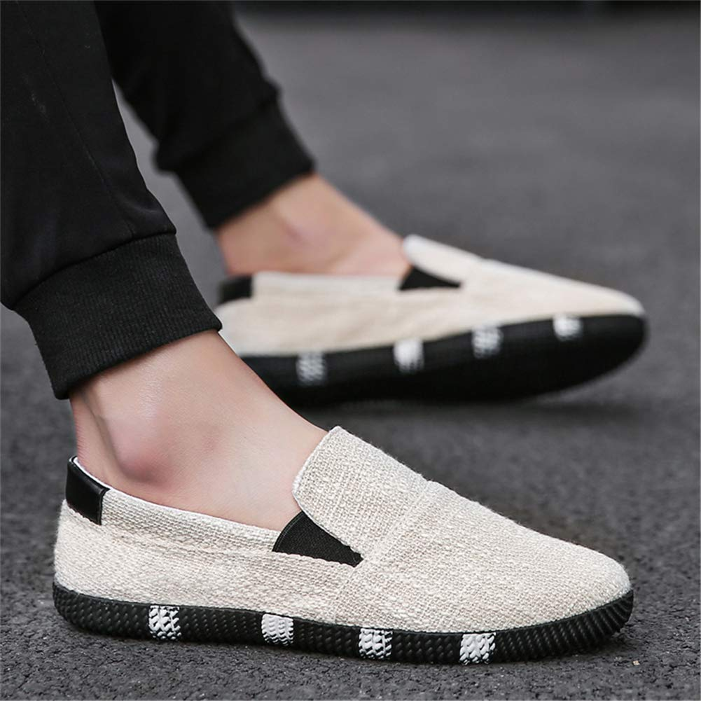 TW22 Mens Lace Up Outdoor Shoes Sports Loafers Casual Sneakers Flat Canvas Shoes