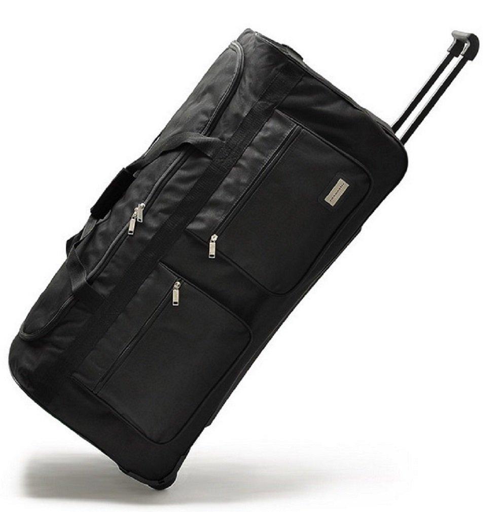 ddfb2e5df51b Wheeled Holdall Trolley Hand Luggage Travel Bag Suitcase Large (34 ...