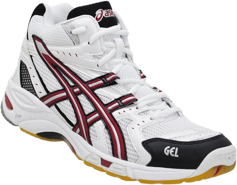 ASICS Gel-Beyond MT - Zapatillas de Running para Hombre (B001N), White/Red/Black, UK 10 / EU 45 / US 11 / CM 28.5: Amazon.es: Deportes y aire libre