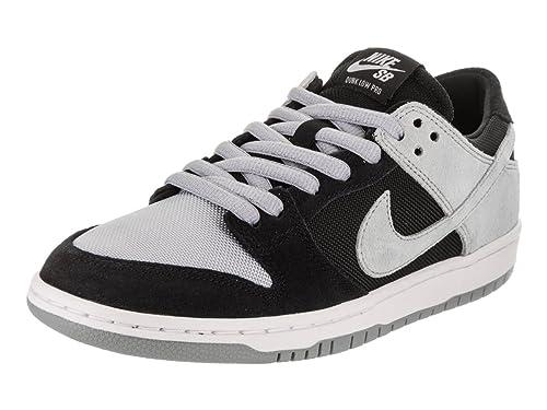 innovative design 054dd 01a3d Nike Men s SB Zoom Dunk Low Pro Black Wolf Grey White White