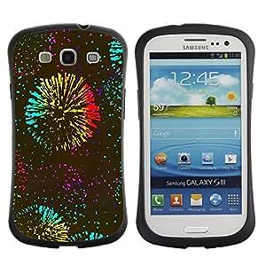 Suave TPU GEL Carcasa Funda Silicona Blando Estuche Caso de protección (para) Samsung Galaxy S3 I9300 / CECELL Phone case / / Years Fireworks Kate Celebration /