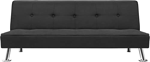 GUNJI Futon Sofa Bed Modern Collection Convertible Sofa Futon Couch Bed Folding Recliner
